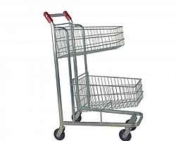 Carrinho de comprar 2 rodas