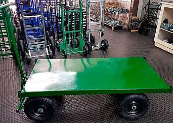 Carrinho de carga plataforma usado
