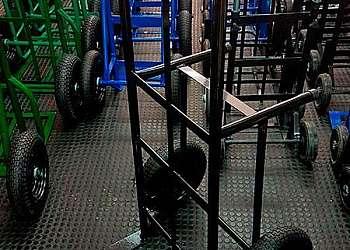 Carrinho de carga escada