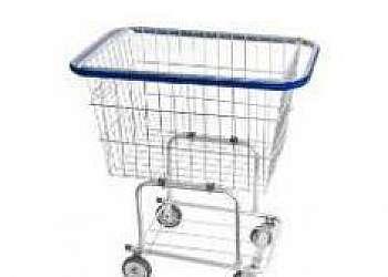Carrinho de compras lavável