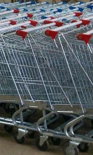 Carrinho de compras supermercado