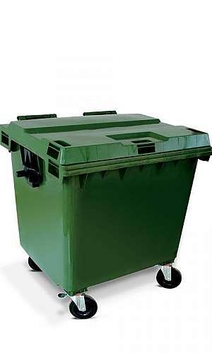 Carrinho de Lixo com Rodinha
