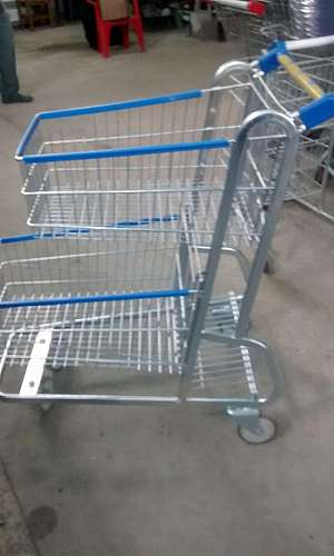 Carrinho de supermercado aluguel