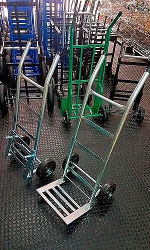 Carrinho para transporte de carga dobrável