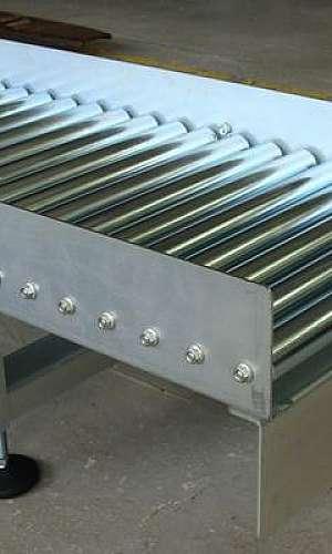 Esteira transportadora de aço inox