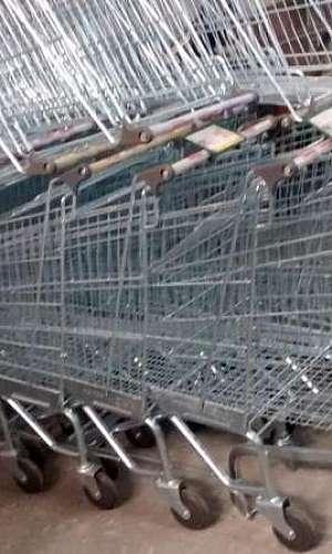 Manutenção de carrinho de supermercado