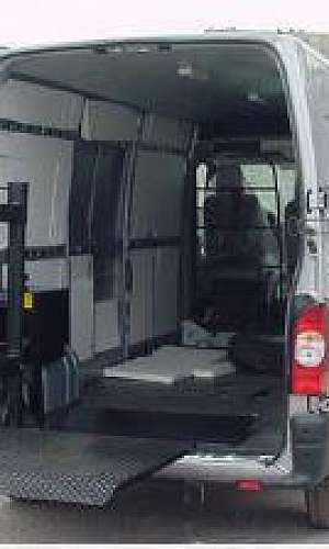 Plataformas elevatorias de cargas veiculares