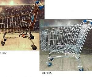 Reforma de carrinhos de supermercado
