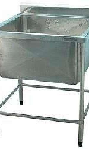 Tanque inox para cozinha industrial